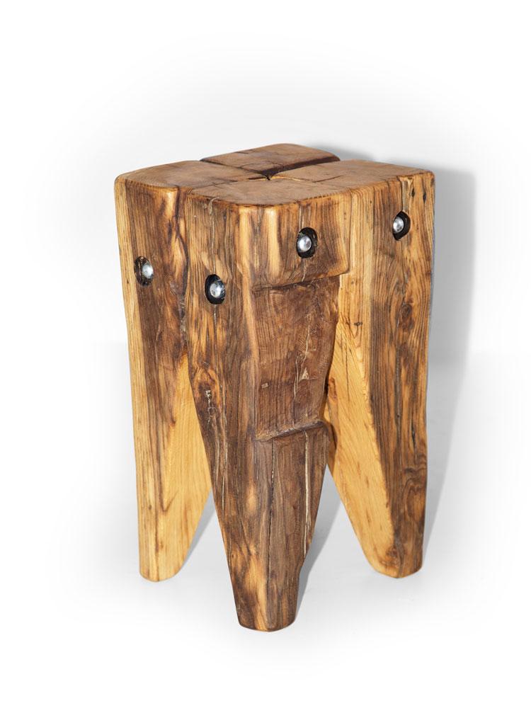 wikinger zahnhocker hocker alteiche 30x30 cm unbehandelt. Black Bedroom Furniture Sets. Home Design Ideas