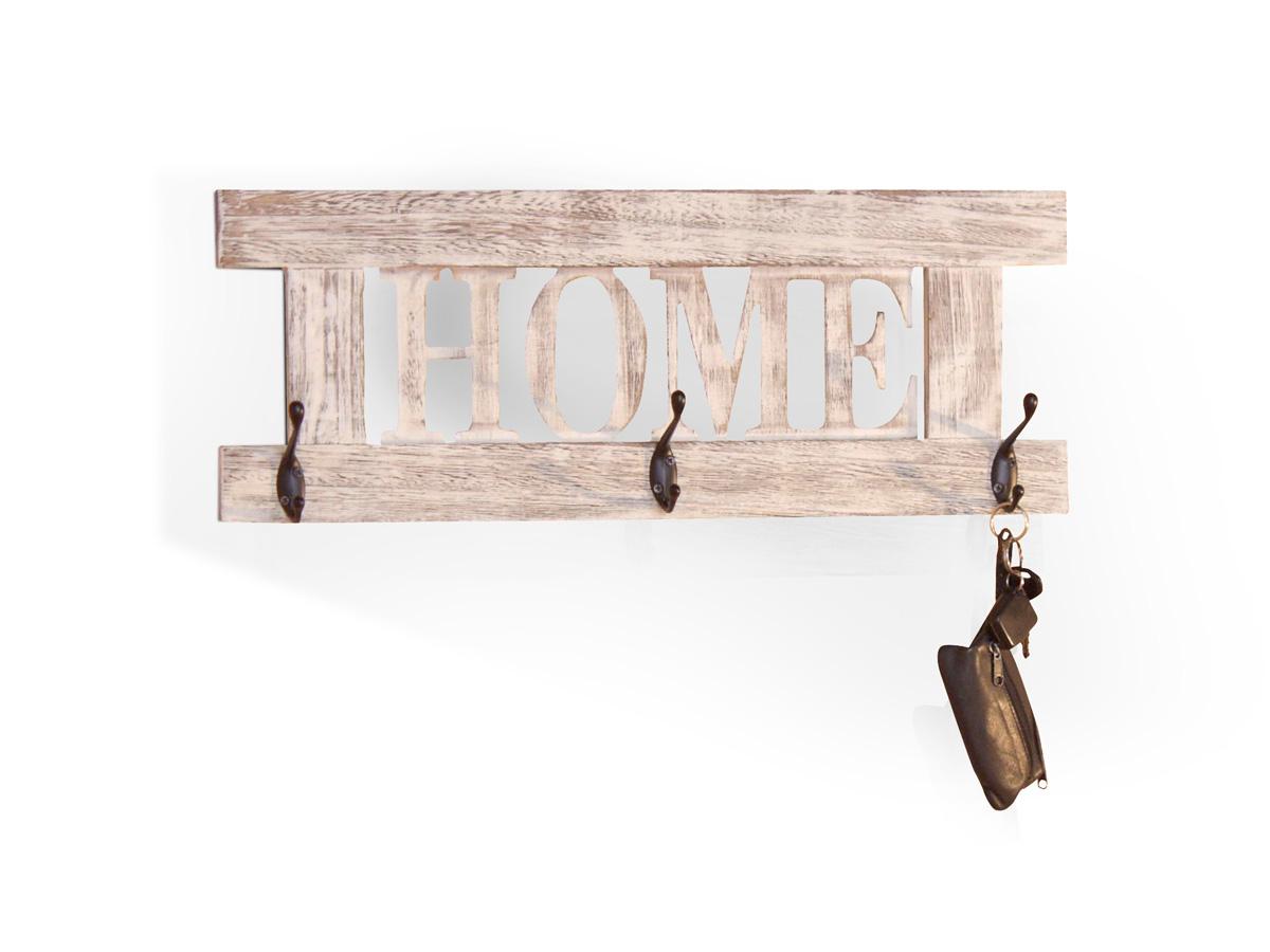 home wandgarderobe used look weiss gewischt. Black Bedroom Furniture Sets. Home Design Ideas