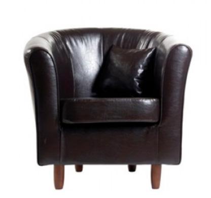 juli cocktailsessel inkl kissen braun. Black Bedroom Furniture Sets. Home Design Ideas