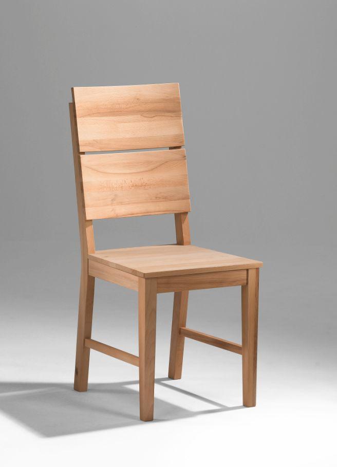 Möbel-Eins 4 Stück Kai Stuhl Kernbuche