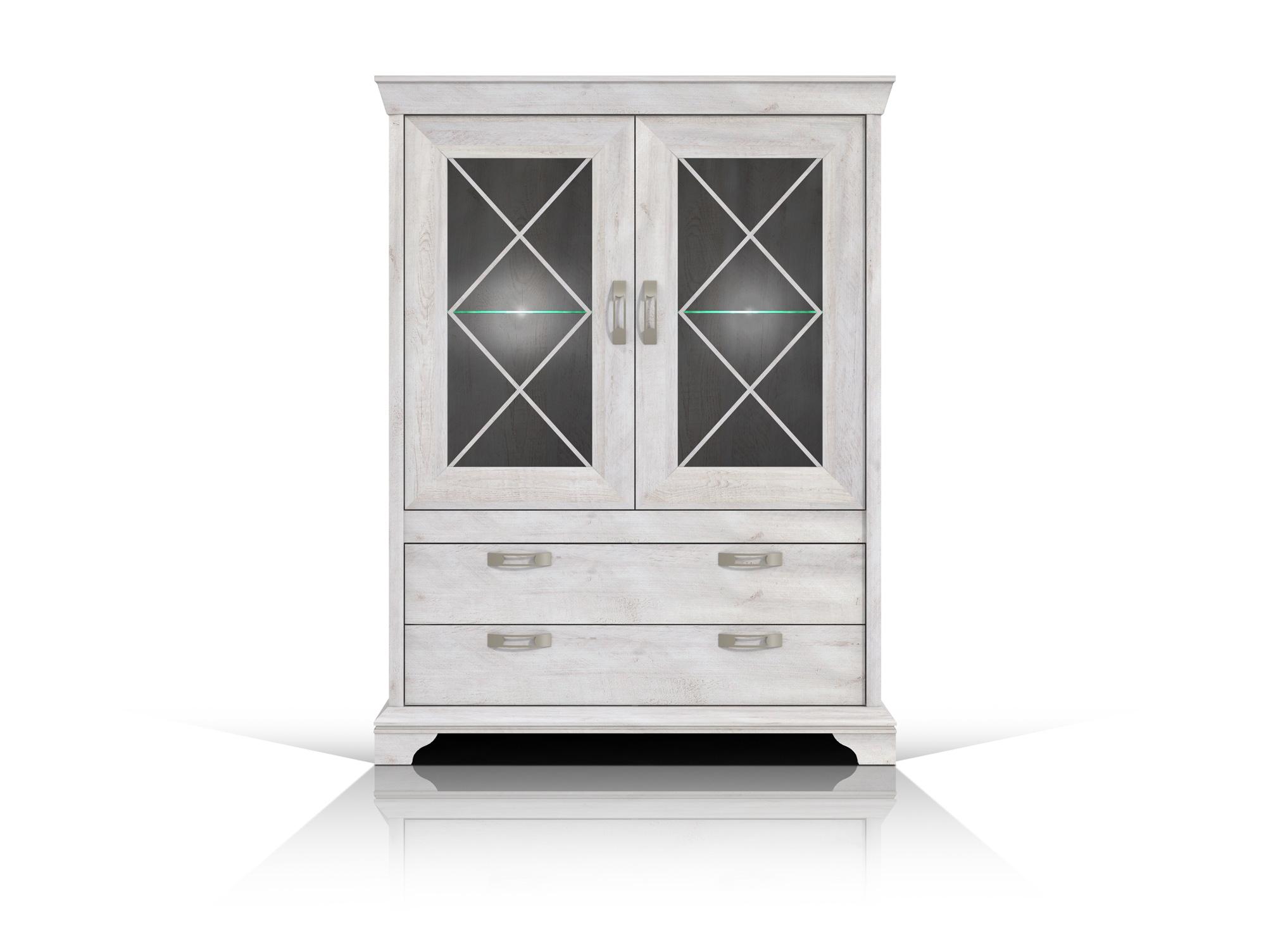 kada stauraumvitrine pinie weiss. Black Bedroom Furniture Sets. Home Design Ideas