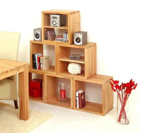 cubix w rfel regalsystem kernbuche. Black Bedroom Furniture Sets. Home Design Ideas