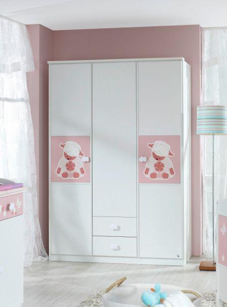 kleiderschrank weiss g nstig kaufen. Black Bedroom Furniture Sets. Home Design Ideas