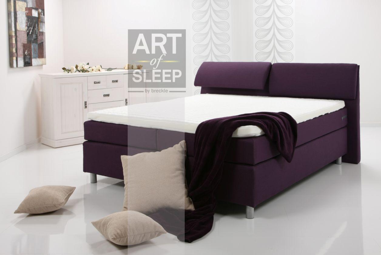 AMY Boxspring Bett / Doppelbett / Einzelbett