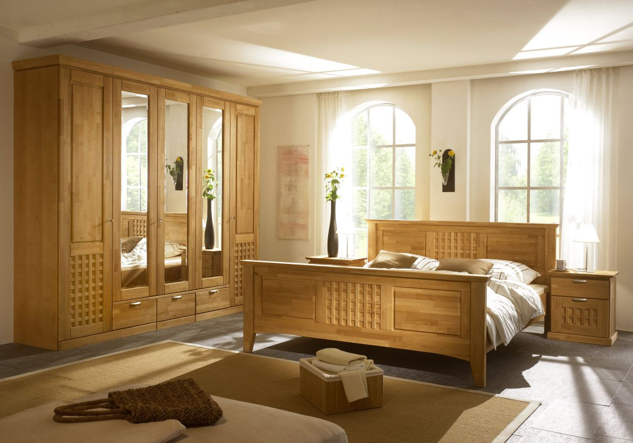 komplett schlafzimmer massiv gunstig innenr ume und m bel ideen. Black Bedroom Furniture Sets. Home Design Ideas