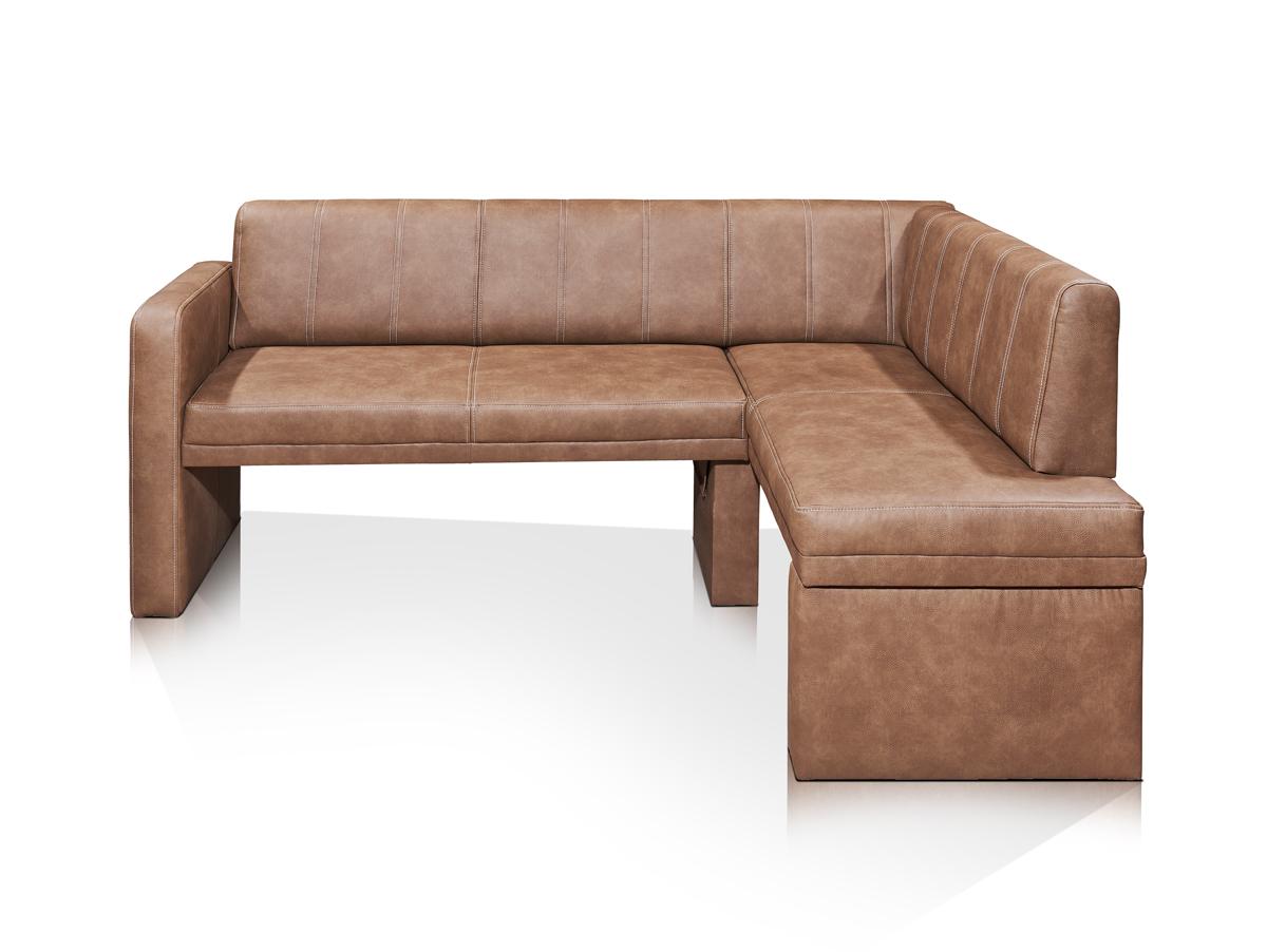 kantana eckbank kunstleder hellbraun rechts. Black Bedroom Furniture Sets. Home Design Ideas