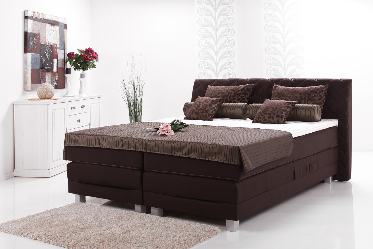 kreta boxspringbett einzelbett doppelbett ab 1639 00 eur kostenloser preisvergleich. Black Bedroom Furniture Sets. Home Design Ideas