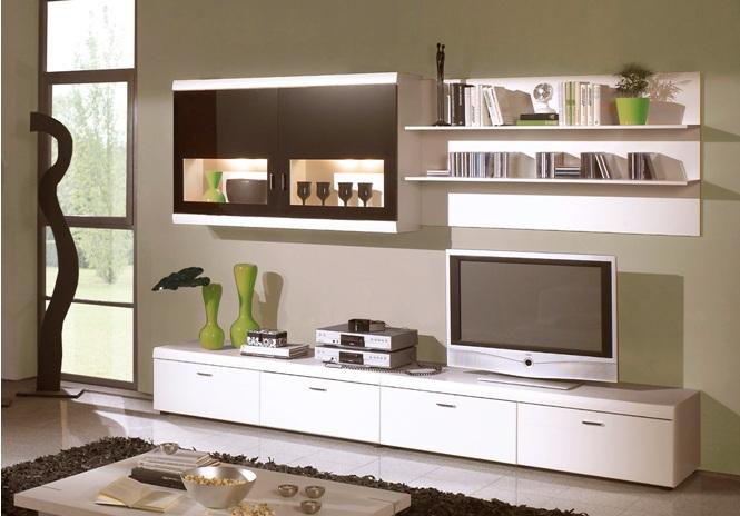 lausanne wohnwand schwarz weiss super angebot sch ne m bel online kaufen. Black Bedroom Furniture Sets. Home Design Ideas