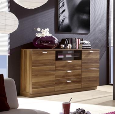 sideboard nussbaum g nstig kaufen. Black Bedroom Furniture Sets. Home Design Ideas