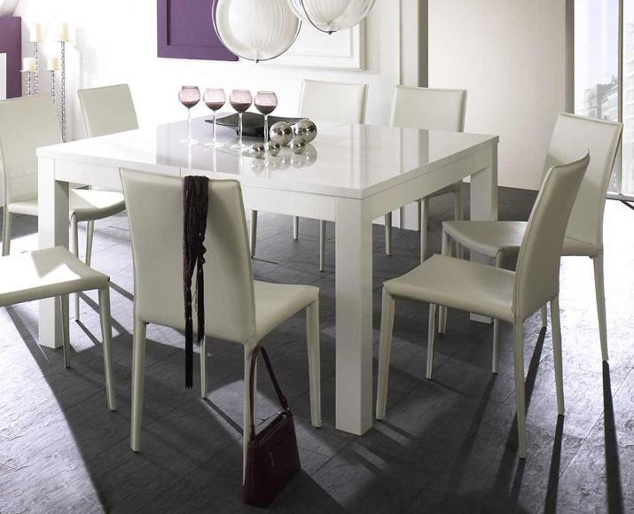 esstisch hochglanz weiss ausziehbar g nstig kaufen. Black Bedroom Furniture Sets. Home Design Ideas