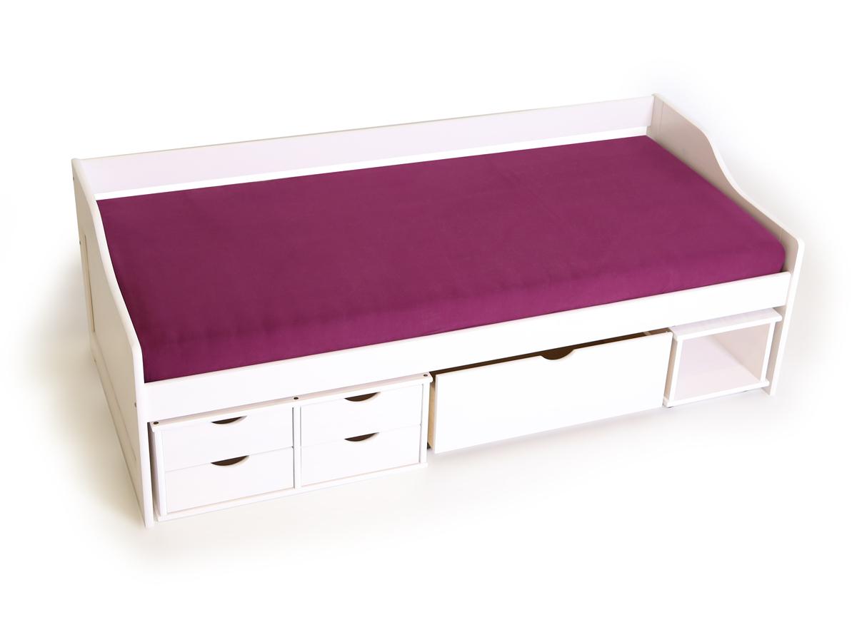marx funktionsbett kiefer wei. Black Bedroom Furniture Sets. Home Design Ideas