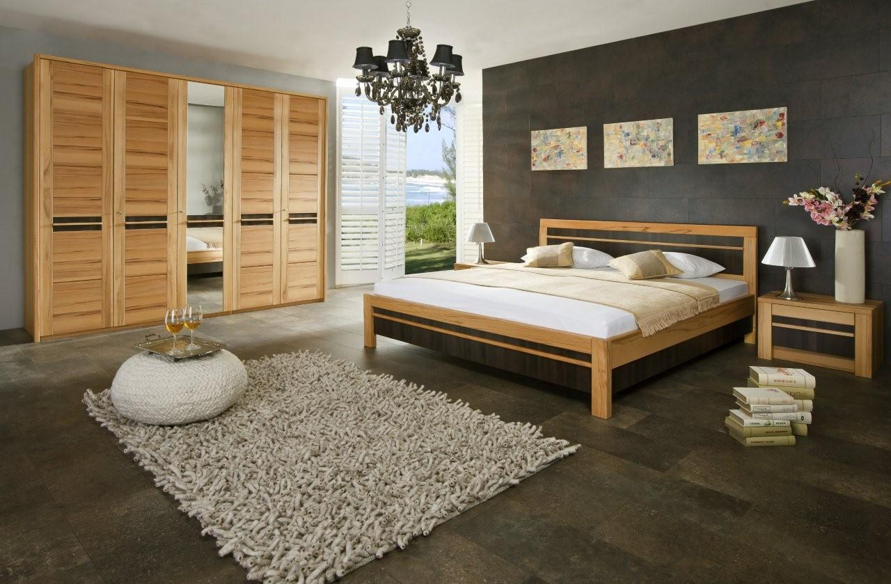schlafzimmer nussbaum g nstig kaufen. Black Bedroom Furniture Sets. Home Design Ideas