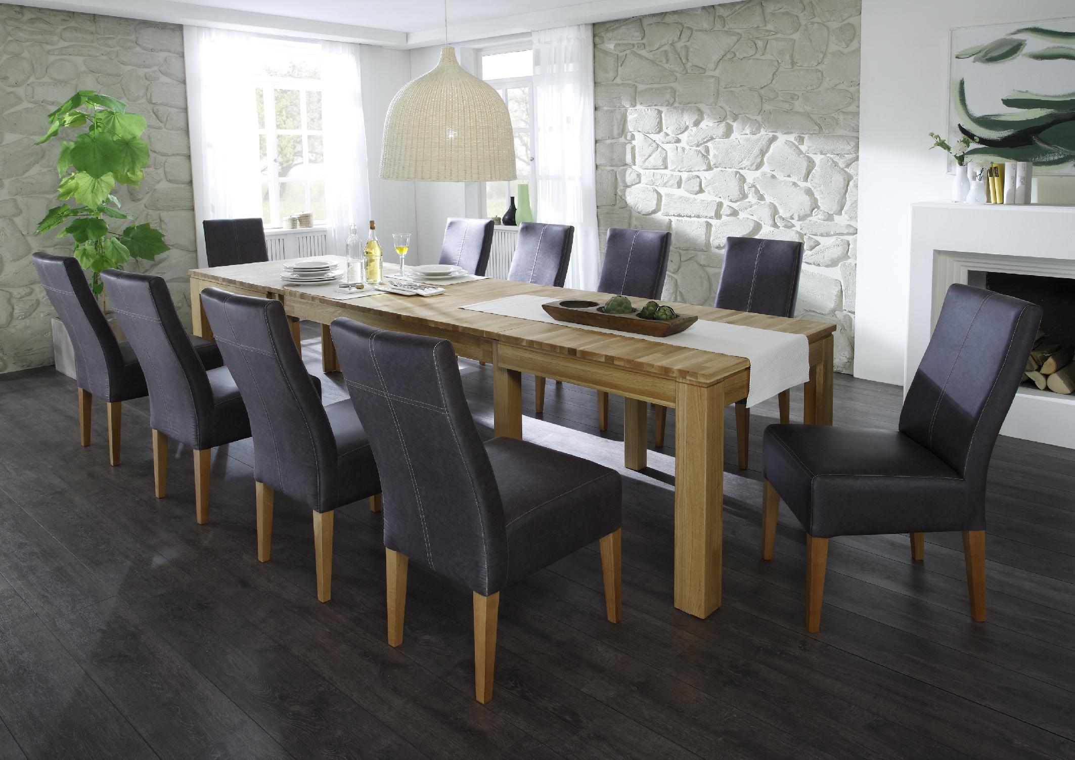 multi xl esstisch ausziehtisch vollmassiv kernbuche lackiert. Black Bedroom Furniture Sets. Home Design Ideas