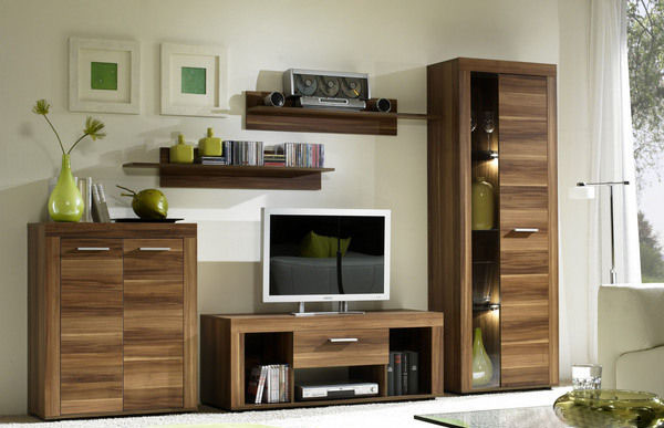 pinto anbauwand wohnwand zwetschge nb. Black Bedroom Furniture Sets. Home Design Ideas