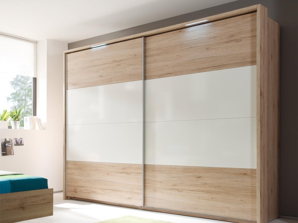 pira schwebet renschrank san remo hell wei glanz. Black Bedroom Furniture Sets. Home Design Ideas