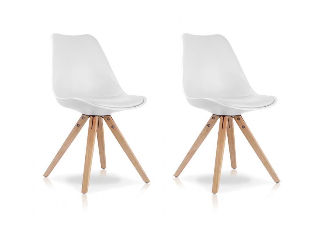 pitu 2er set esszimmerstuhl schalenstuhl weiss weiss. Black Bedroom Furniture Sets. Home Design Ideas