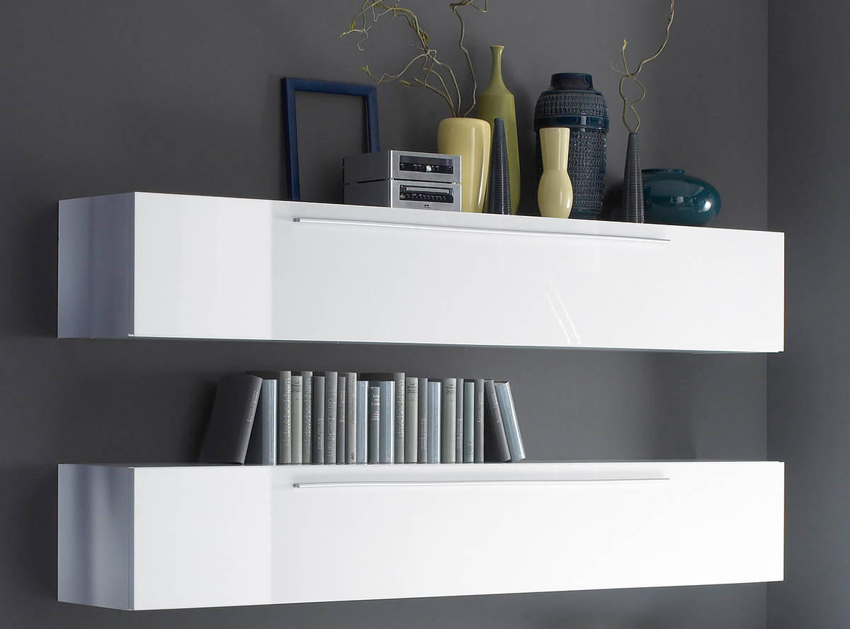 portia h ngeelement wei hochglanz lackiert. Black Bedroom Furniture Sets. Home Design Ideas