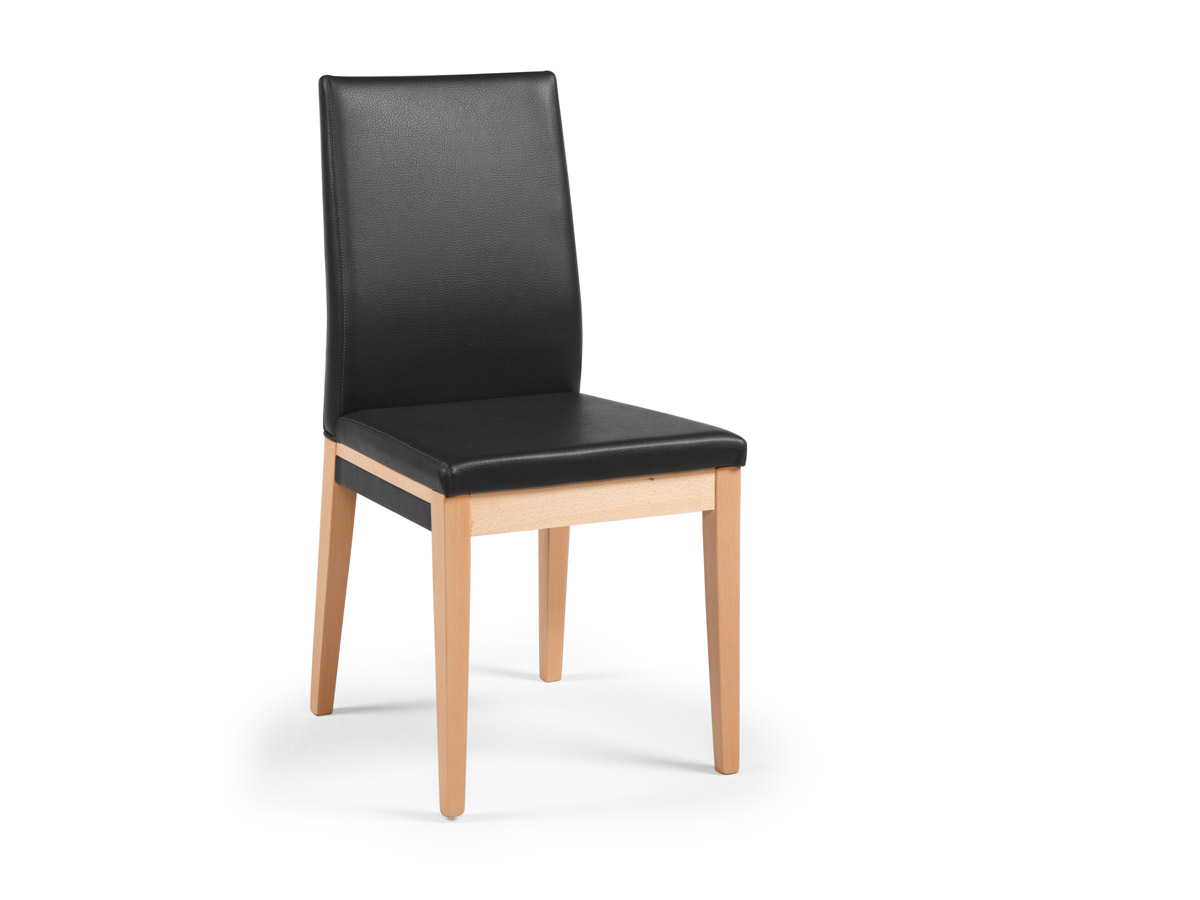 Sasha esstischstuhl polsterstuhl buche schwarz for Esstischstuhl schwarz