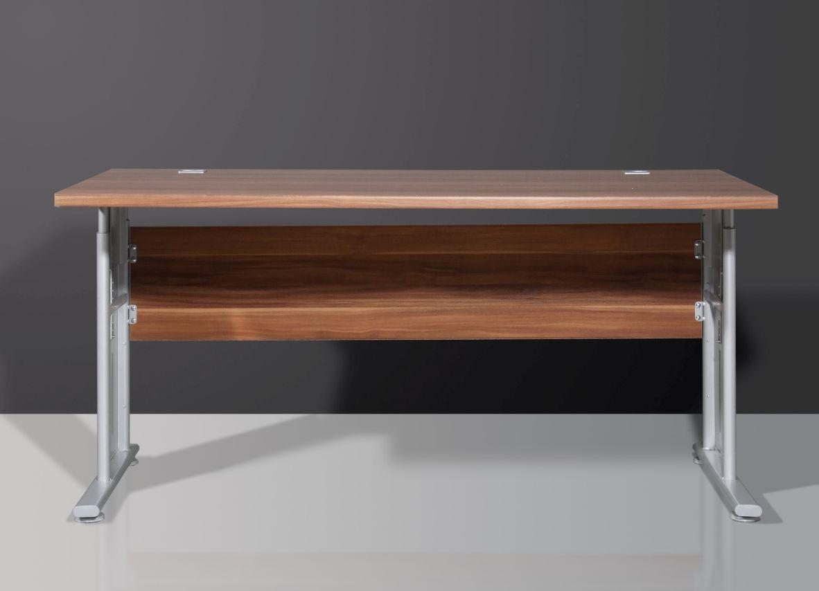 varina schreibtisch hoehenverstellbar walnuss 279 b2b trade. Black Bedroom Furniture Sets. Home Design Ideas