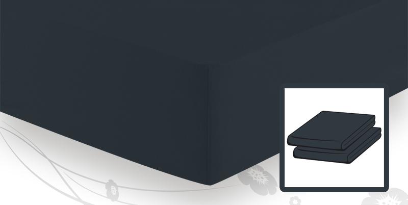 frottee stretch spannbetttuch 90x200 bis 100x200 schwarz. Black Bedroom Furniture Sets. Home Design Ideas