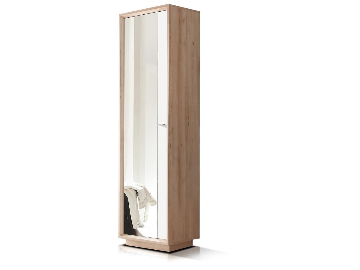 seven garderobenschrank schmal edelbuche weiss. Black Bedroom Furniture Sets. Home Design Ideas