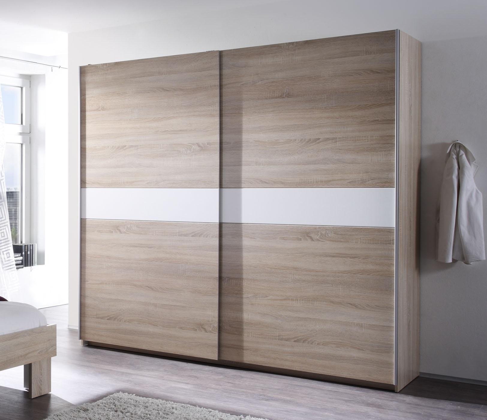 vanti schwebet renschrank in 2 farbausf hrungen eiche sonoma bauchbinde wei. Black Bedroom Furniture Sets. Home Design Ideas