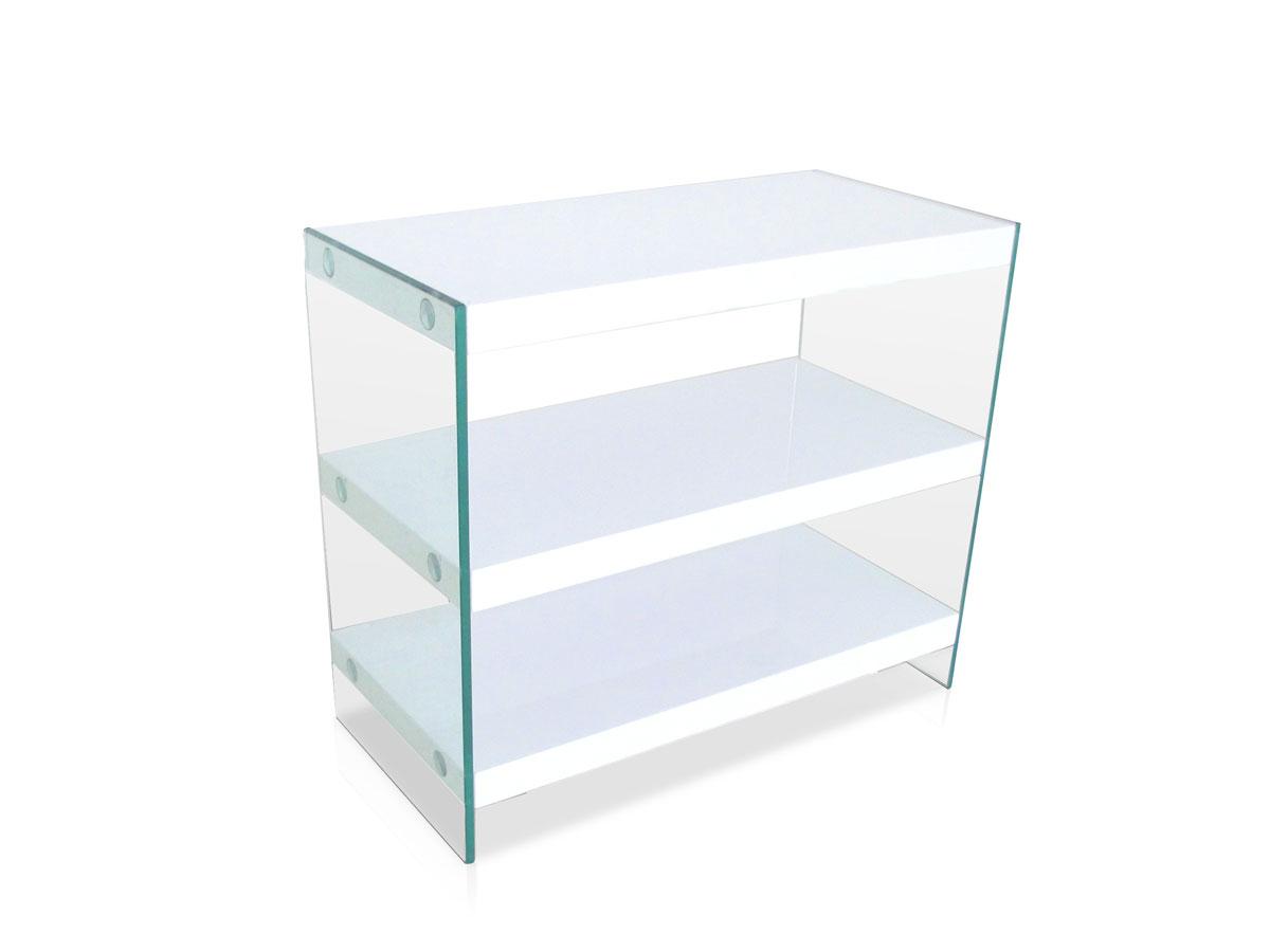 sunny iv regal wei glas. Black Bedroom Furniture Sets. Home Design Ideas