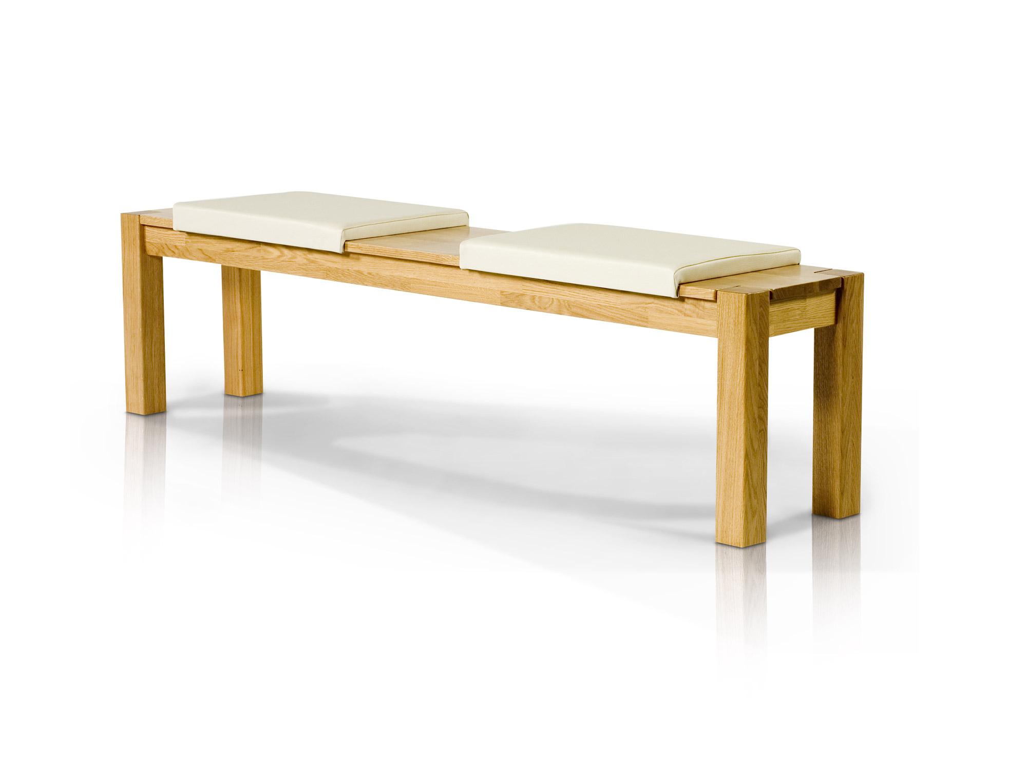timo sitzbank vollmassiv 140 x 35 cm eiche ge lt. Black Bedroom Furniture Sets. Home Design Ideas