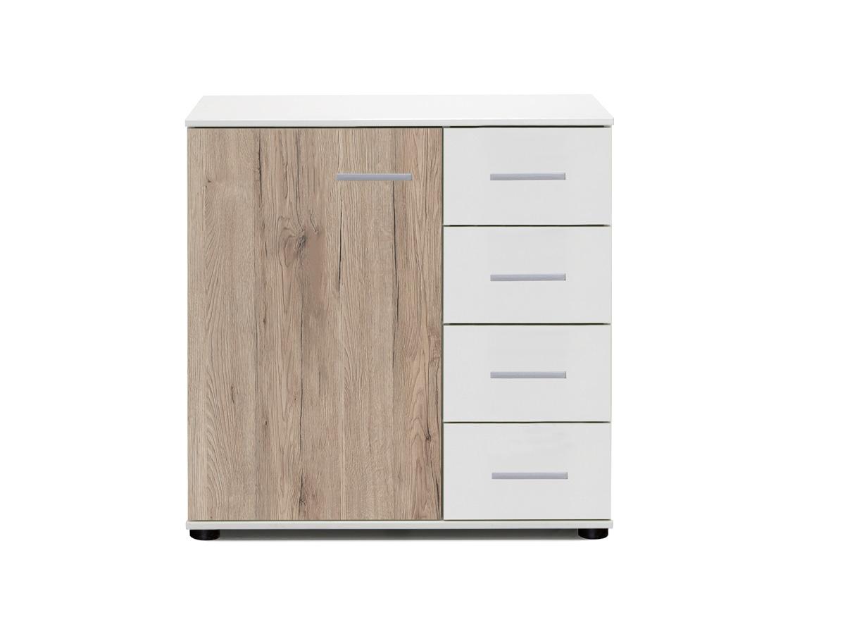 kommode mit schublade weiss hochglanz g nstig kaufen. Black Bedroom Furniture Sets. Home Design Ideas