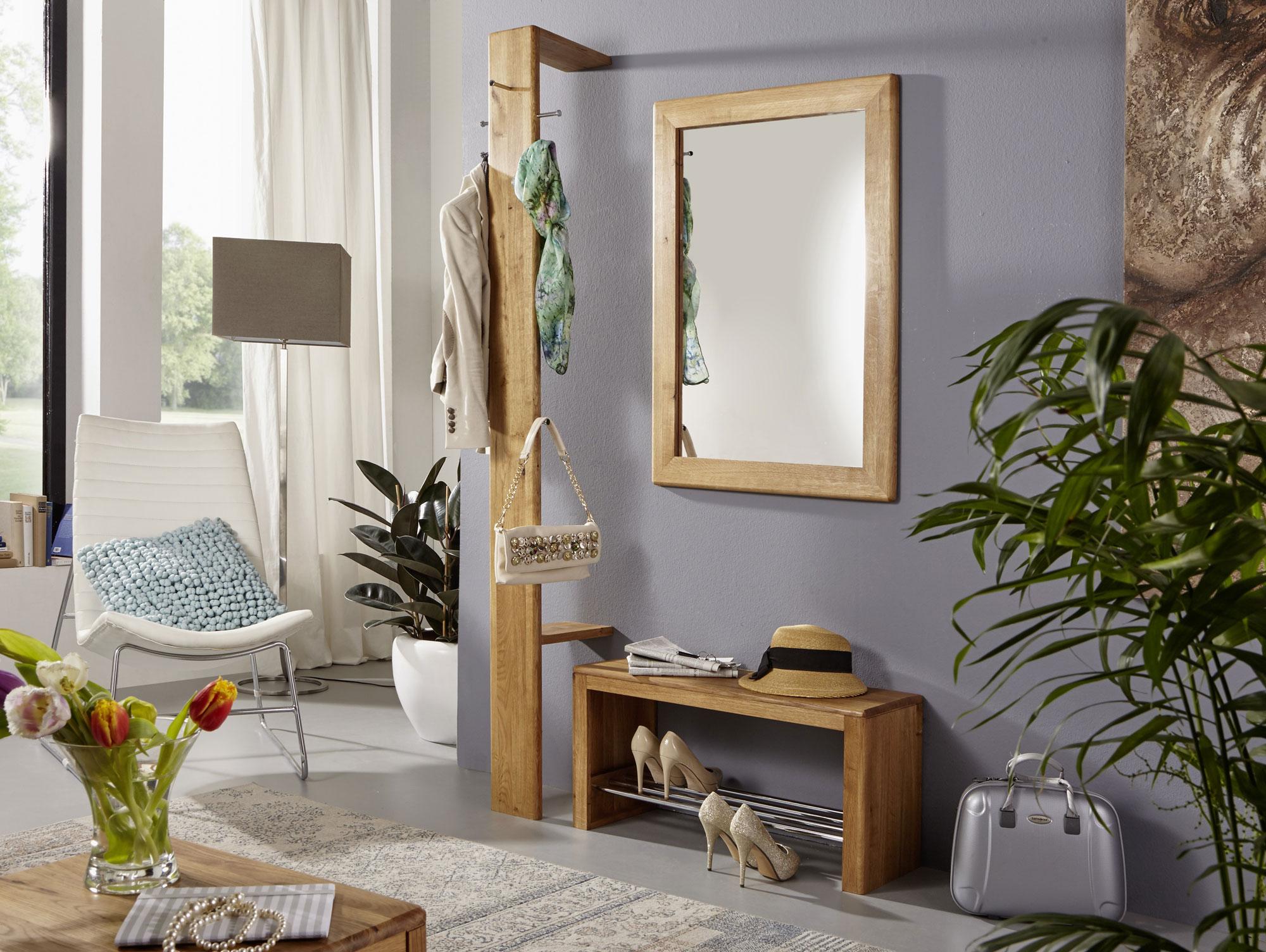 verona garderobe wildeiche ge lt. Black Bedroom Furniture Sets. Home Design Ideas