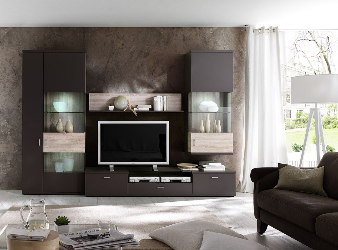 wohnw nde aus eiche sch ne m bel online kaufen seite 12. Black Bedroom Furniture Sets. Home Design Ideas