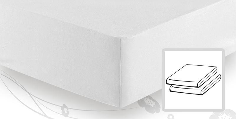 schlafgut elastic jersey topper spannbetttuch spannbettlaken 140 160x200 220 weiss. Black Bedroom Furniture Sets. Home Design Ideas