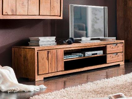 whitney mountain tv board 1 t r sheesham gebeizt. Black Bedroom Furniture Sets. Home Design Ideas