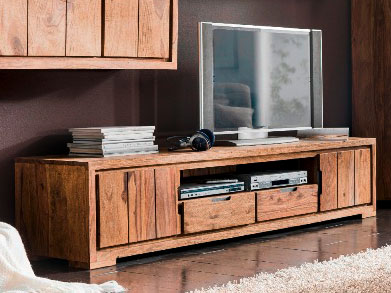 whitney mountain tv board 2 t ren sheesham gebeizt. Black Bedroom Furniture Sets. Home Design Ideas