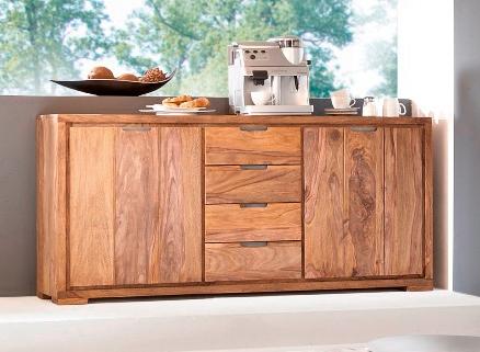 whitney mountain sideboard sheesham gebeizt. Black Bedroom Furniture Sets. Home Design Ideas