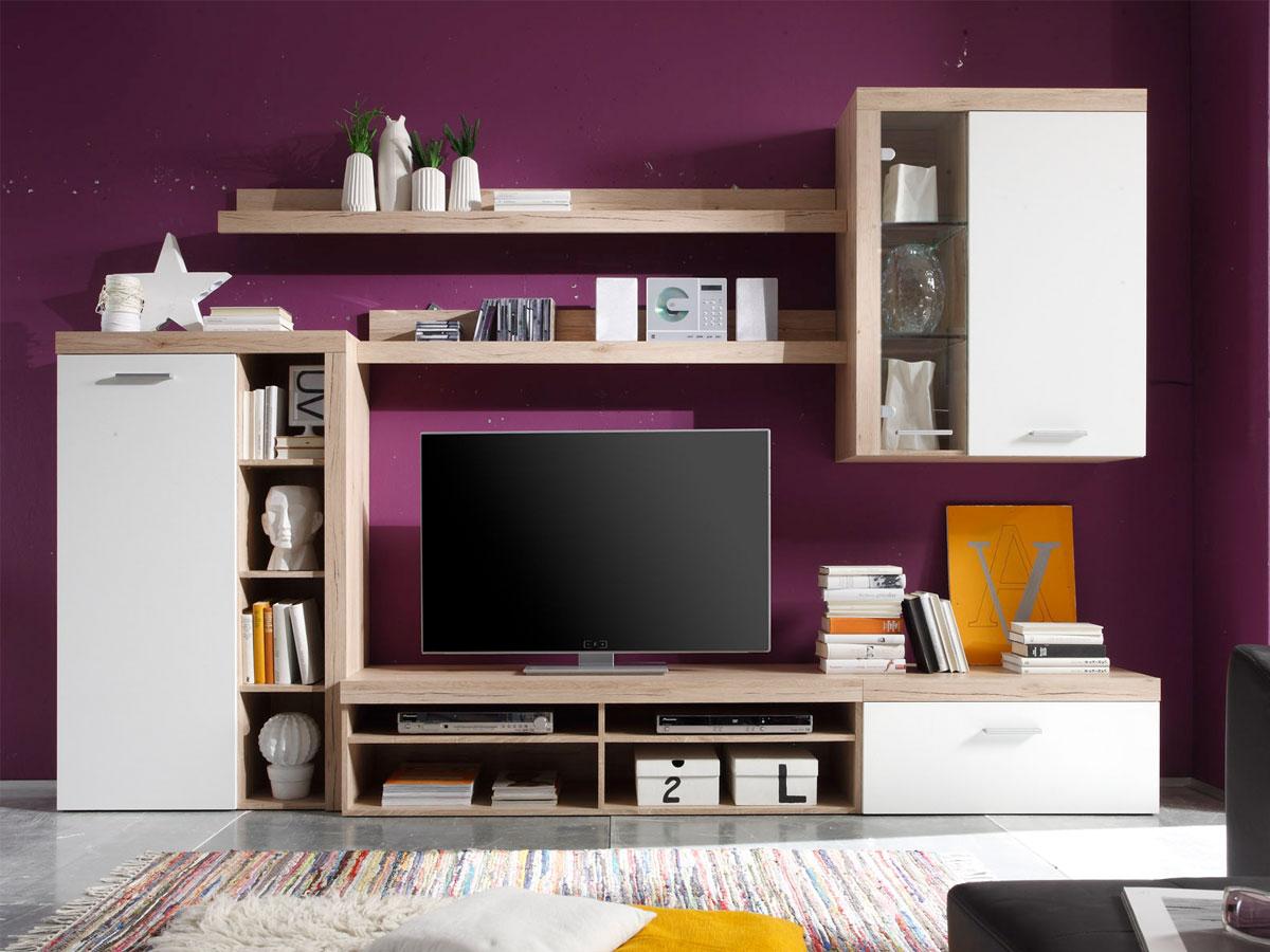 tv m bel eiche hell preisvergleiche erfahrungsberichte und kauf bei nextag. Black Bedroom Furniture Sets. Home Design Ideas