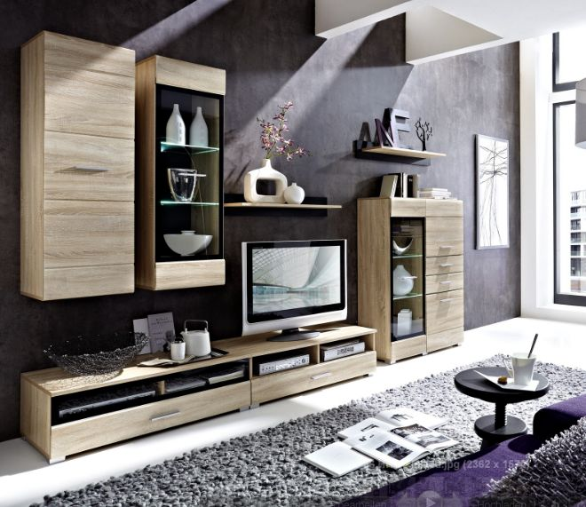 wohnw nde aus eiche sch ne m bel online kaufen seite 9. Black Bedroom Furniture Sets. Home Design Ideas