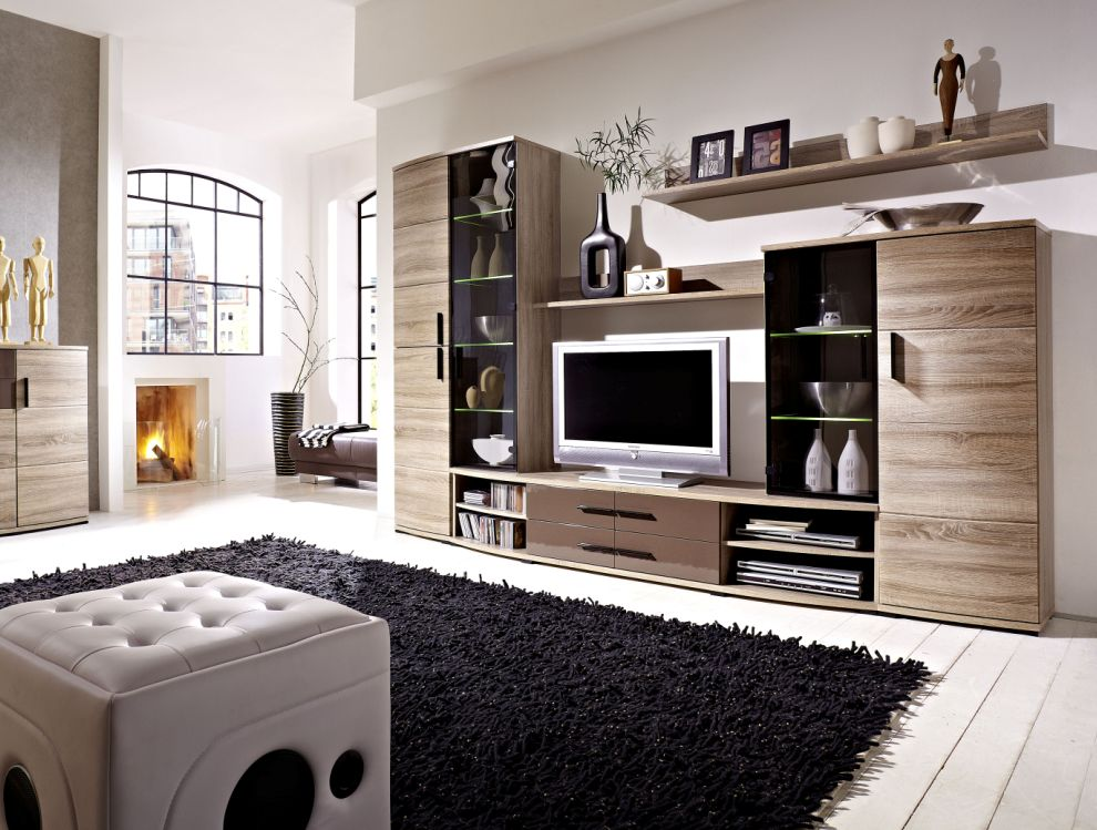 wohnw nde aus eiche sch ne m bel online. Black Bedroom Furniture Sets. Home Design Ideas