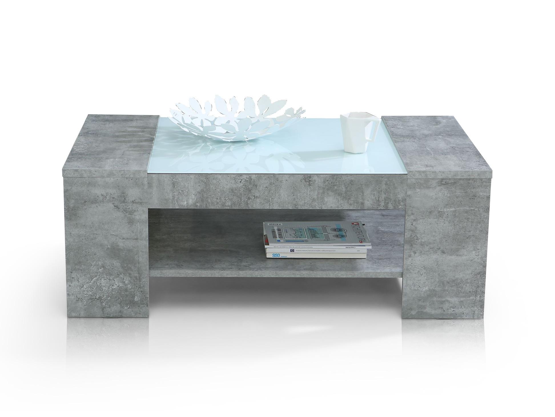 neues interieur beton wohnzimmertisch eigenschaften. Black Bedroom Furniture Sets. Home Design Ideas