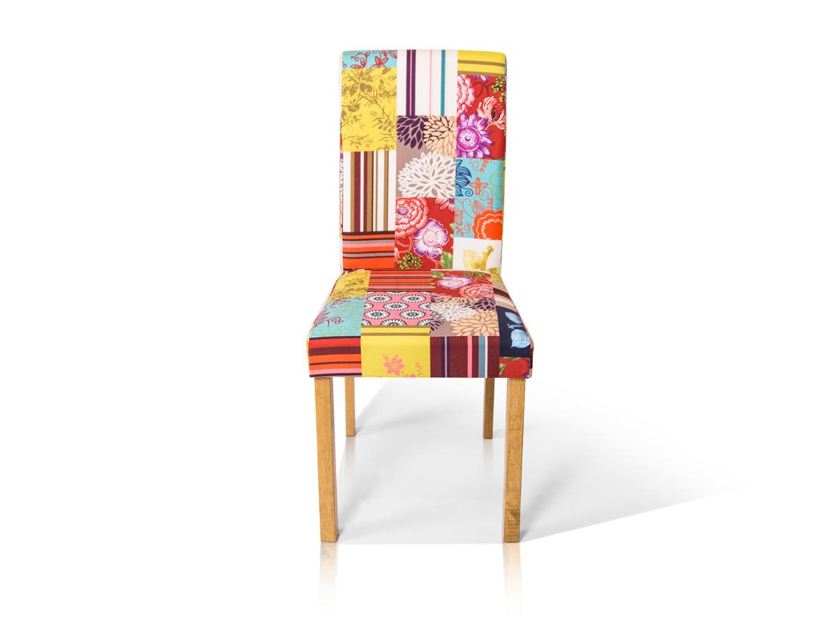 bill polsterstuhl patchwork eiche. Black Bedroom Furniture Sets. Home Design Ideas