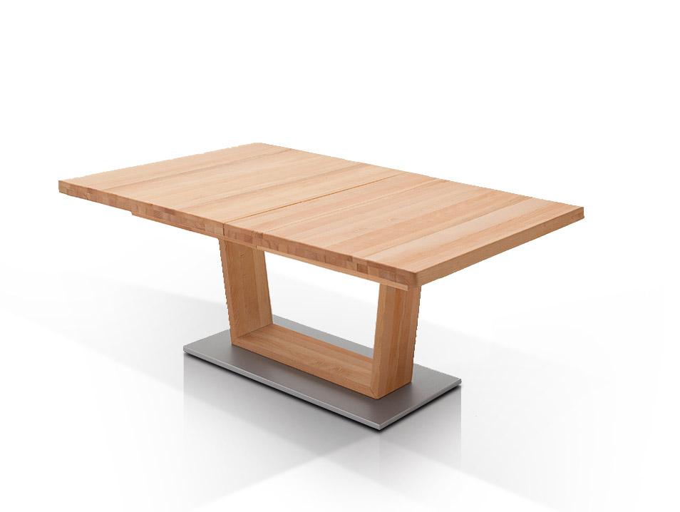 cover esstisch massivholzesstisch rechteckig mit v fu. Black Bedroom Furniture Sets. Home Design Ideas