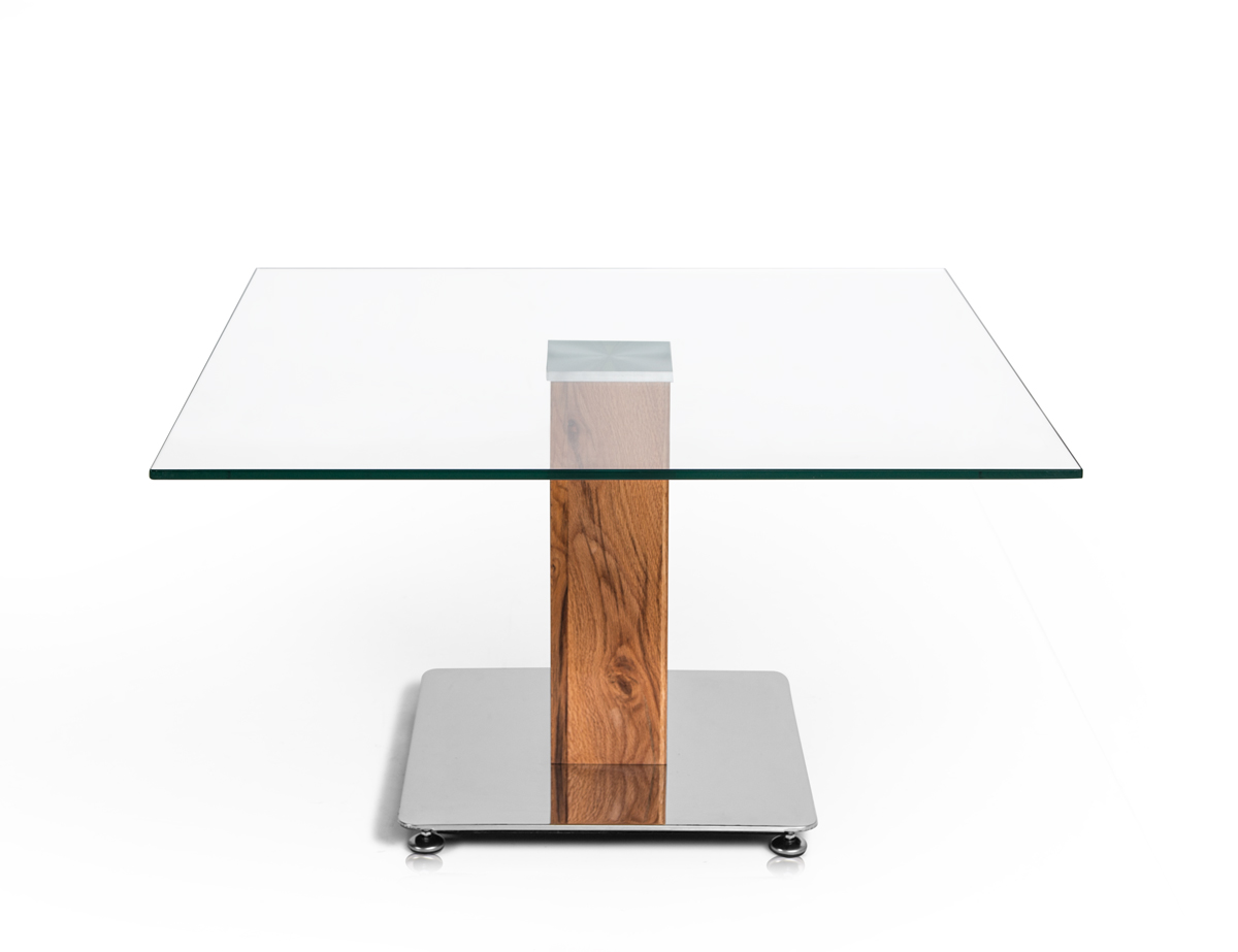 desk couchtisch wildeiche glas 80x44x80 cm. Black Bedroom Furniture Sets. Home Design Ideas