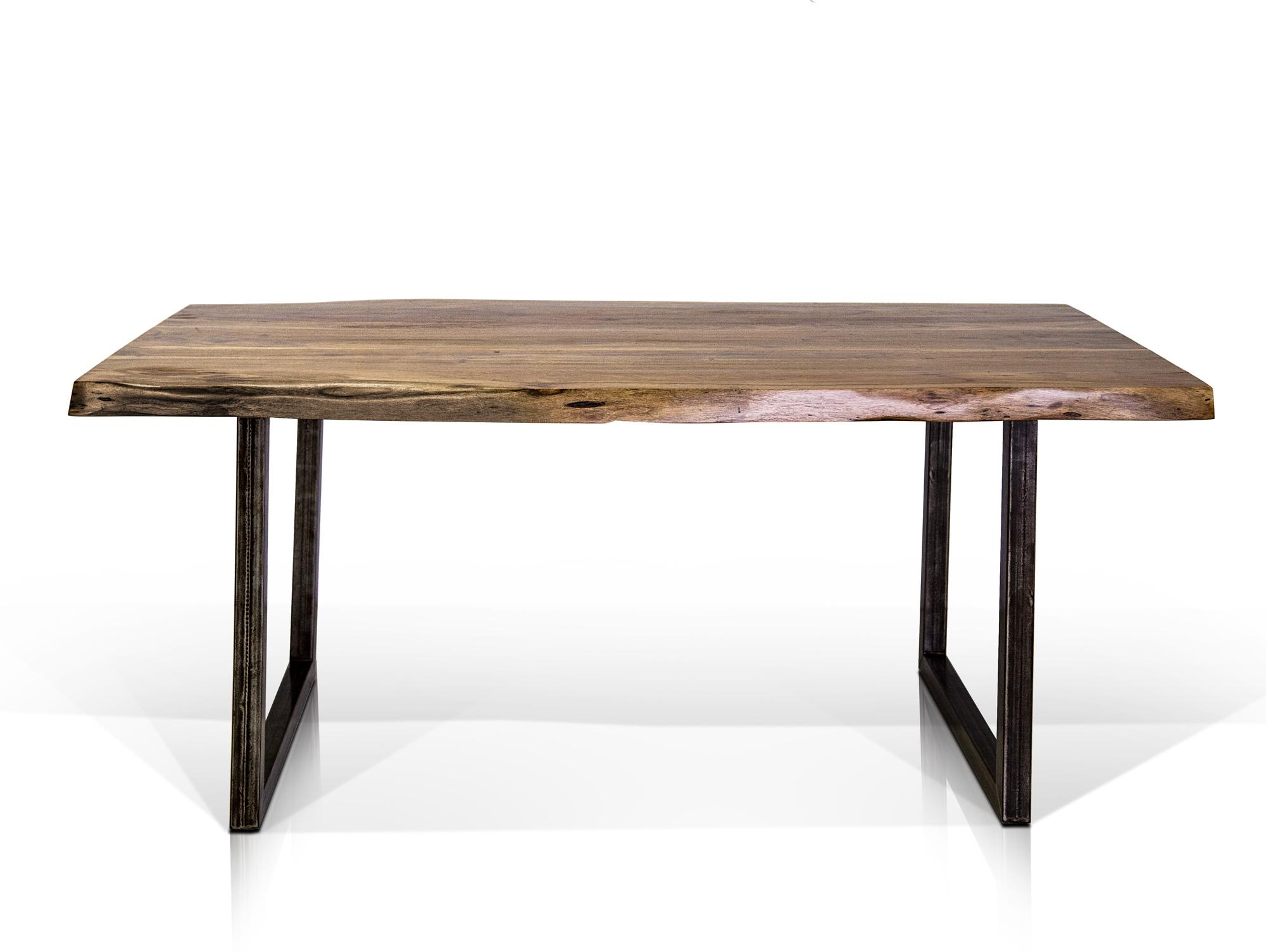 esstisch baumstamm akazie design. Black Bedroom Furniture Sets. Home Design Ideas