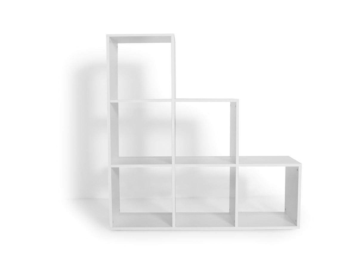 laluna regal treppe weiss. Black Bedroom Furniture Sets. Home Design Ideas