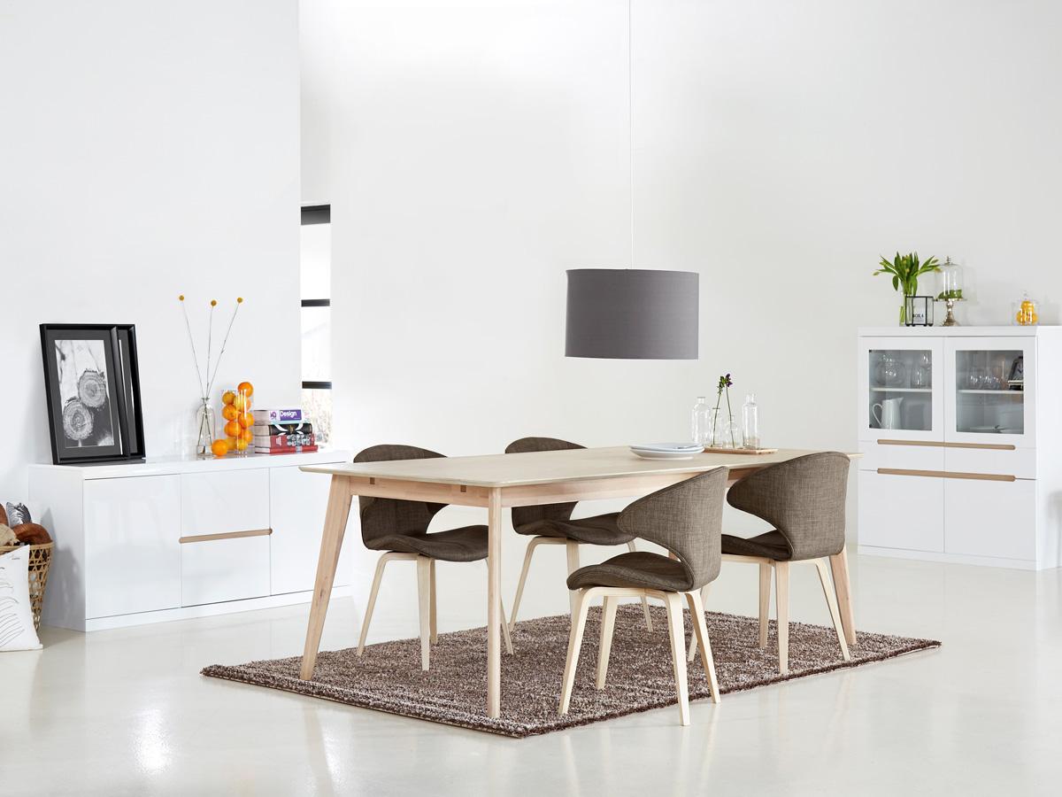 sax esstischstuhl schalenstuhl braun eiche hell. Black Bedroom Furniture Sets. Home Design Ideas
