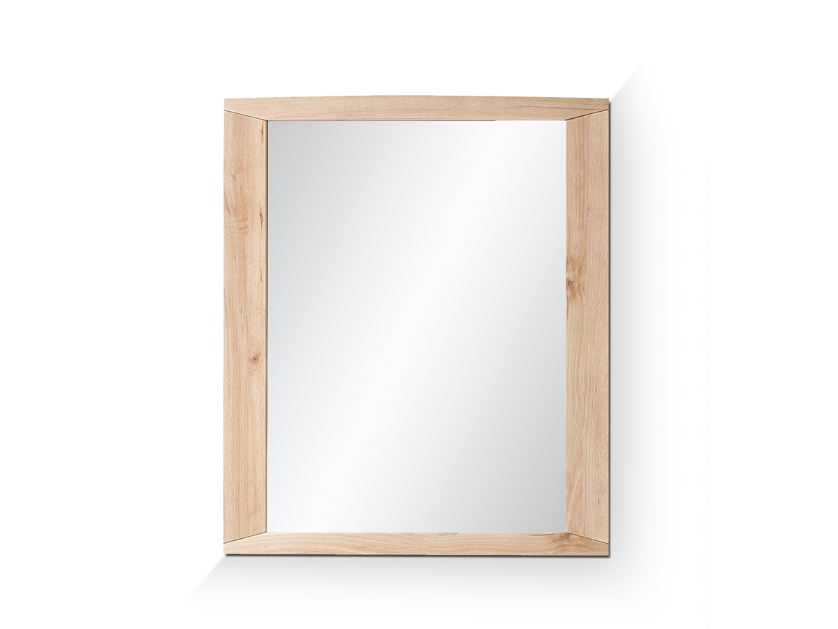 Senta spiegel 68 x 80 cm buche hell - Spiegel x ...