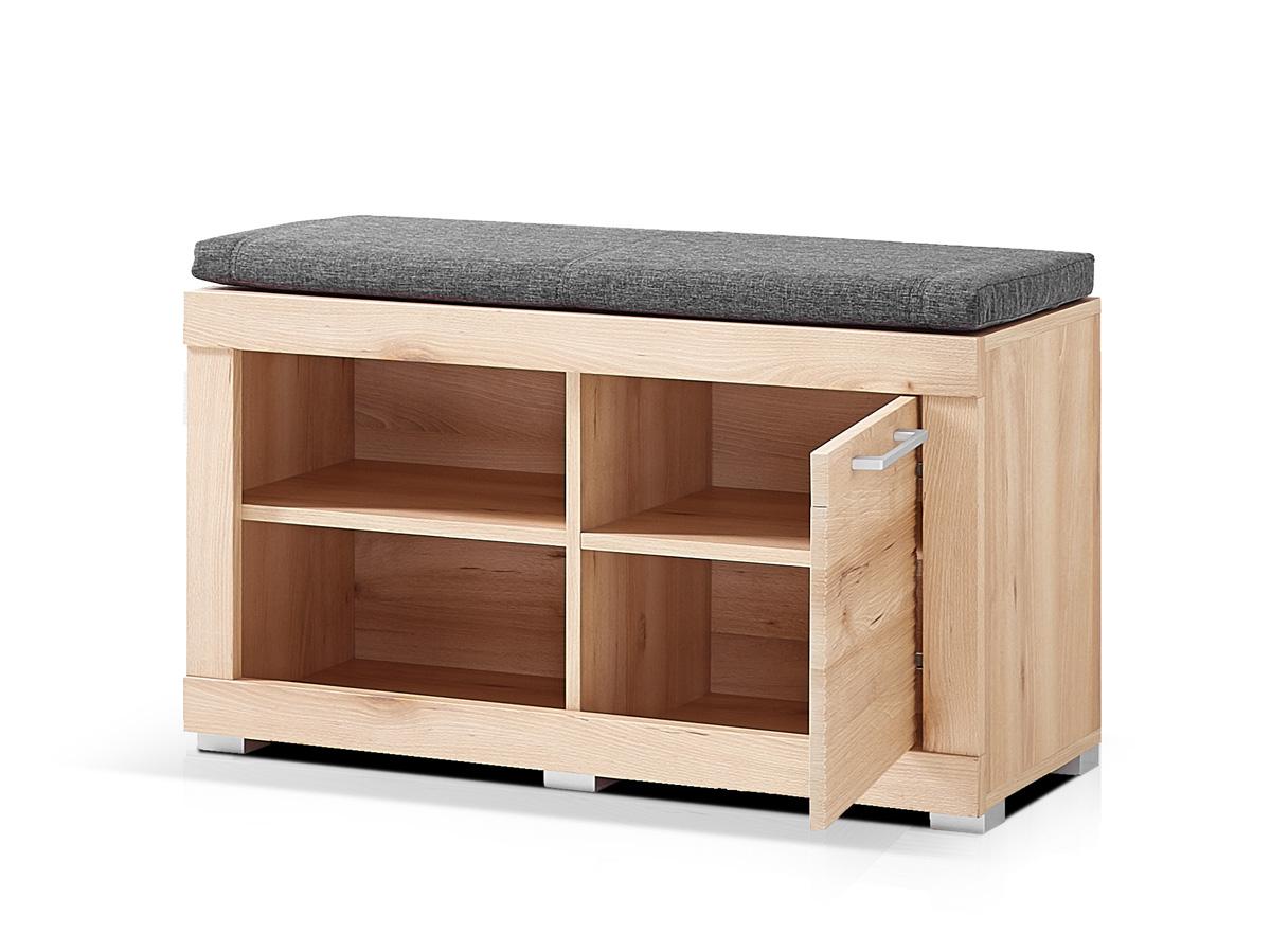 tim sitzbank inkl sitzkissen grau. Black Bedroom Furniture Sets. Home Design Ideas