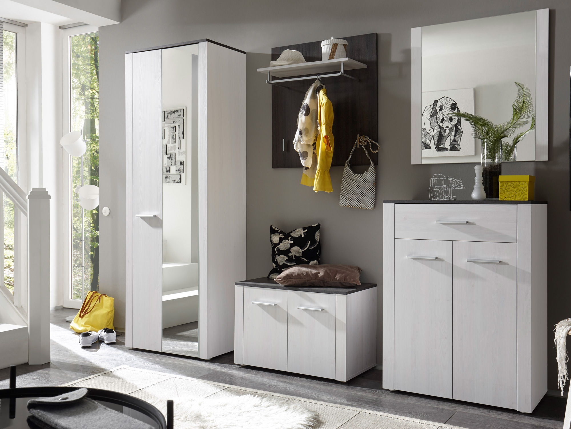 deria komplett garderobe sibiu l rche touchwood. Black Bedroom Furniture Sets. Home Design Ideas
