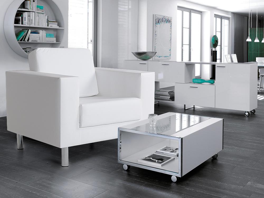 susi sessel kunstleder weiss. Black Bedroom Furniture Sets. Home Design Ideas