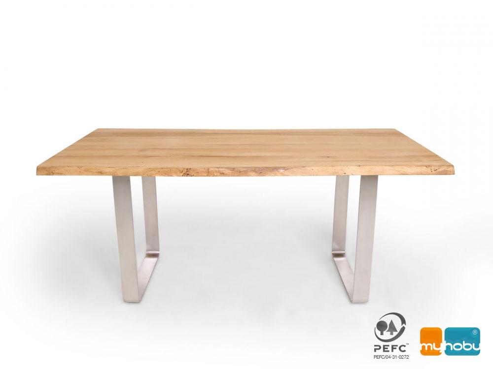 Esstisch Smartline H ~ ZWEIGELT Esstisch  Baumkantentisch  Maßesstsich